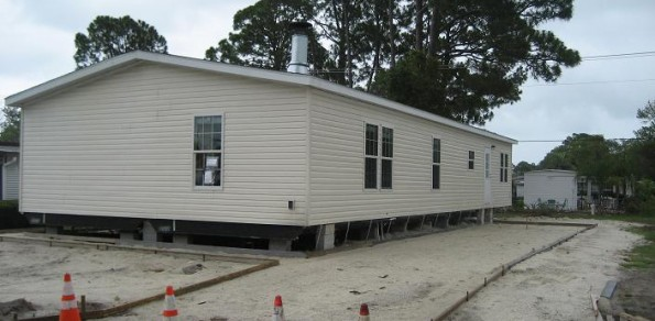 Mobile Home Installed June 13, 2012