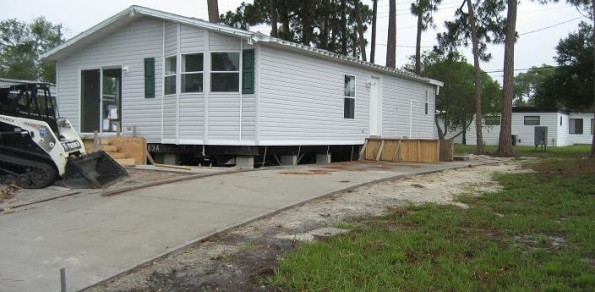 Mobile Home Move May 7, 2012