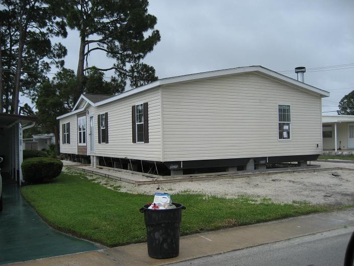 mobile home installed on may 9 2012 from altha fl mclay homes